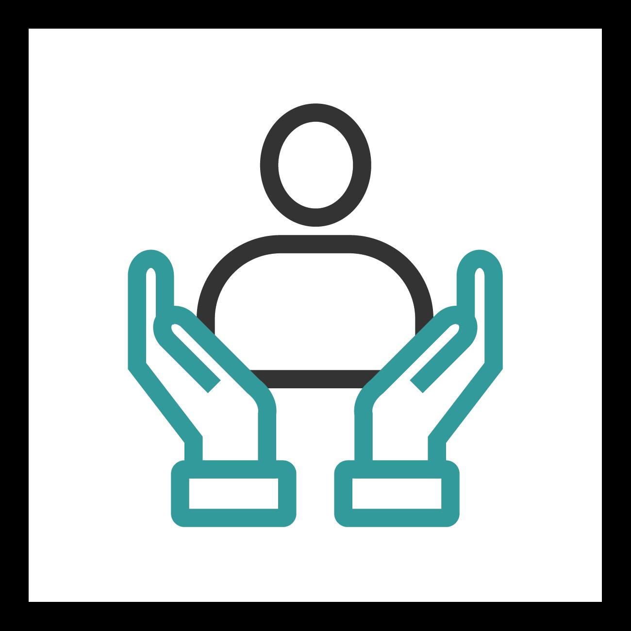 Social supporters logo