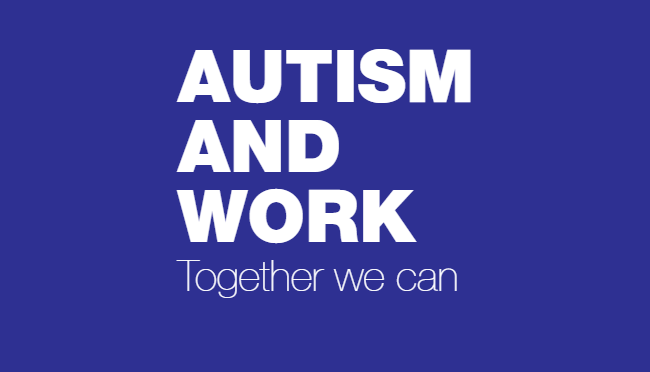 autism and work logo